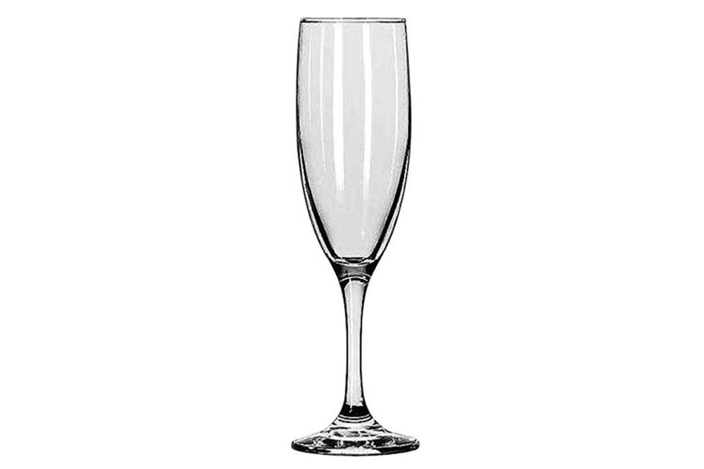 Hire: 180ml champagne flute glass