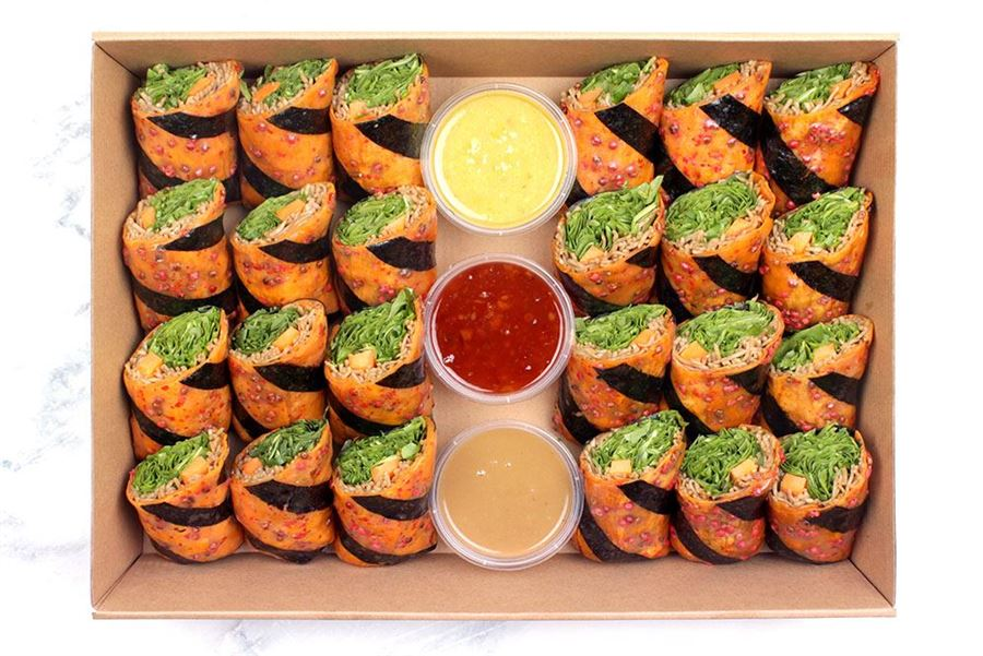 Sweet Potato Salad Roll Collection