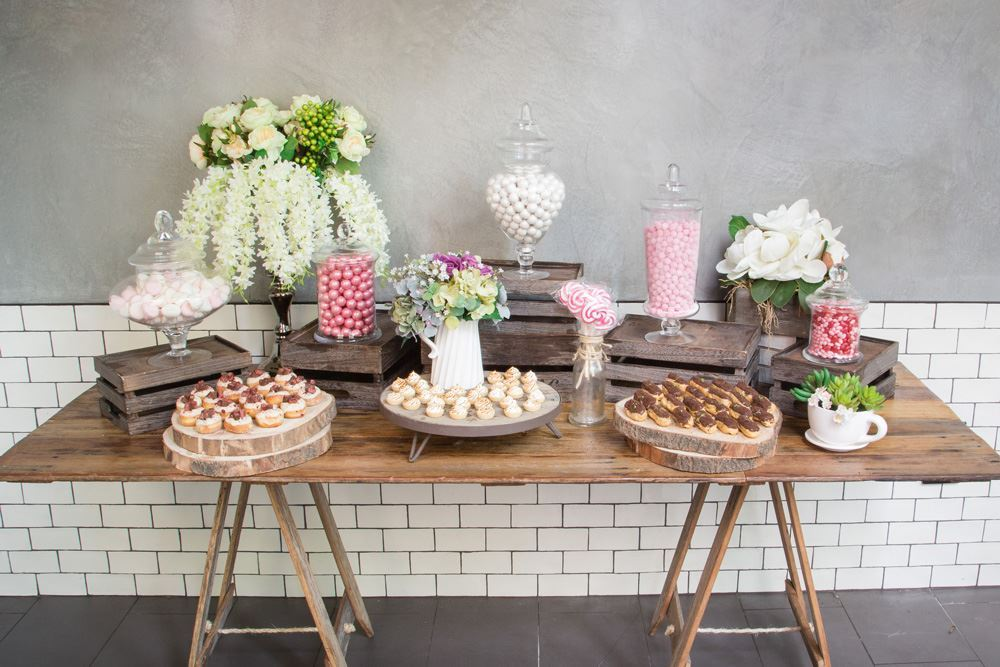 Pink Candy Sweet Food Station Collection