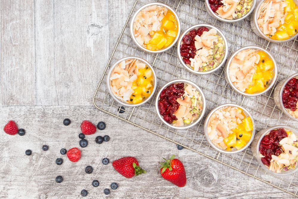 Healthy Vegan Breakfast Pots