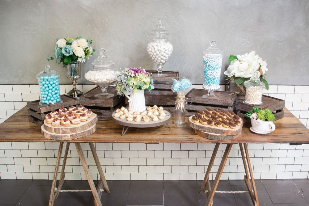 Blue Candy Sweet Food Station Collection