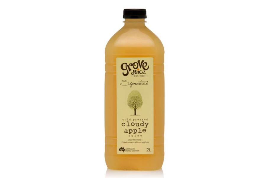 Grove Signature 100% Australian Cloudy Apple  Juice