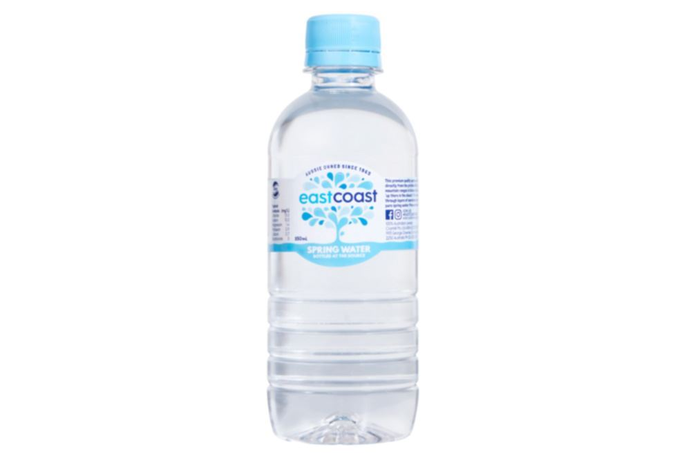 East Coast Spring Water - 350ml PET Bottle