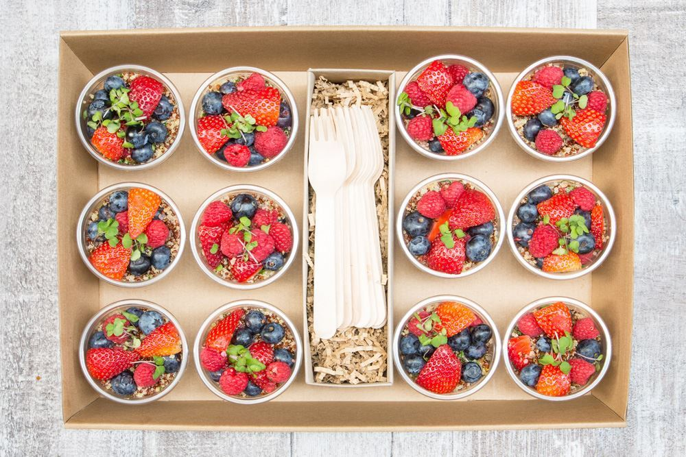 Berry Quinoa Breakfast Salad Collection