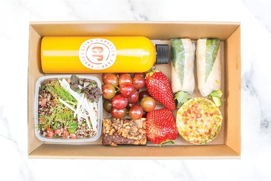 Individual Gluten Free Lunch Box