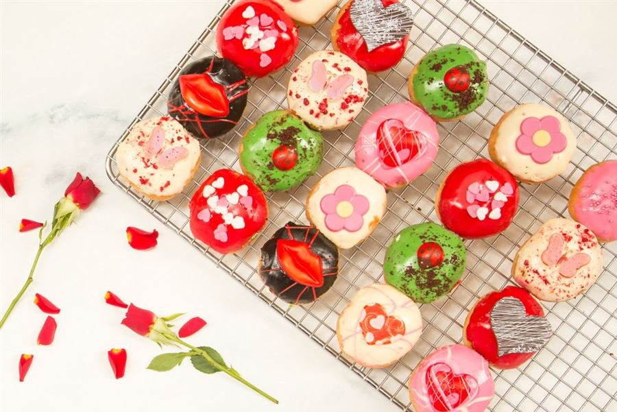 Limited Edition Month Love Doughnuts